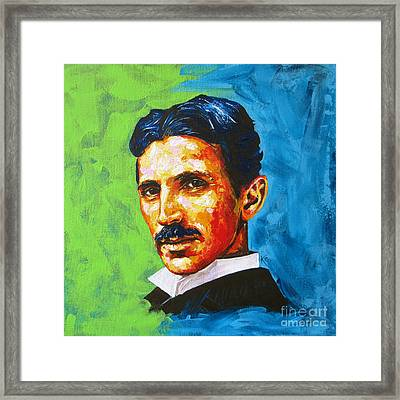 The Great Inventor Framed Print