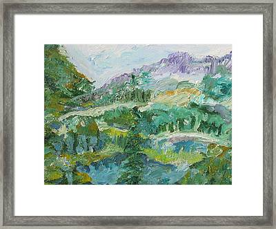 The Great Land Framed Print by Shea Holliman
