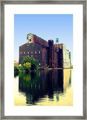 The Great Northern Elevator Framed Print