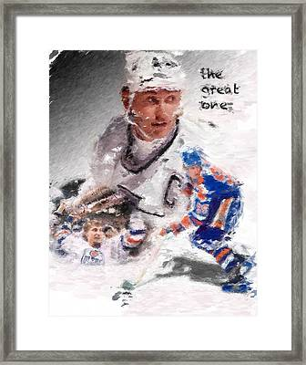 The Great One Framed Print by Brian Menasco