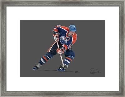 Gretzky Framed Print