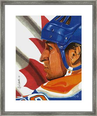 The Great One Framed Print by Cory Still
