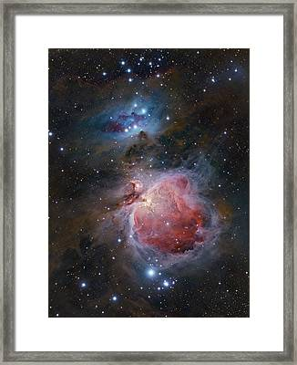 The Great Orion Nebula Framed Print by Alex Conu