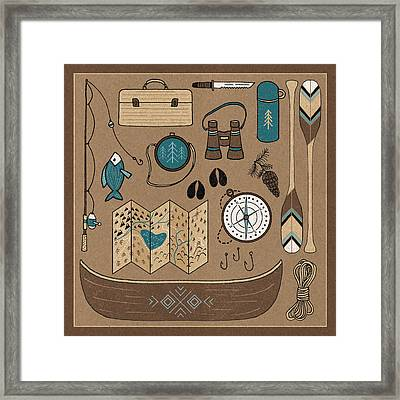 The Great Outdoors Vi Framed Print by Laura Marshall