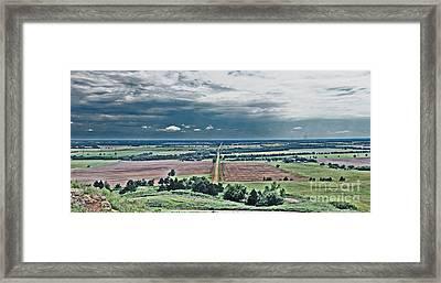 The Great Plains Framed Print