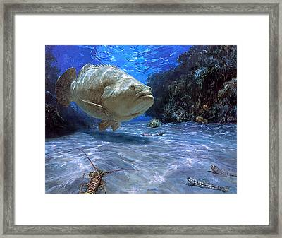 The Great Presence, 2001 A Massive Framed Print