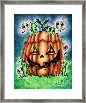 The Great Pumpkin Framed Print by Coriander  Shea
