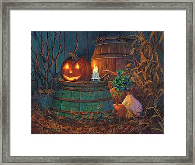 The Great Pumpkin Framed Print by Michael Humphries