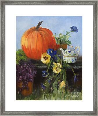 The Great Pumpkin Framed Print by Sandy Lane