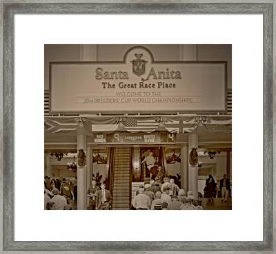 The Great Race Place Framed Print by See My  Photos