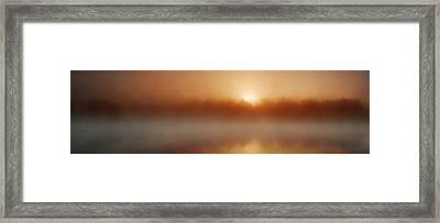 The Great Sunrise Framed Print