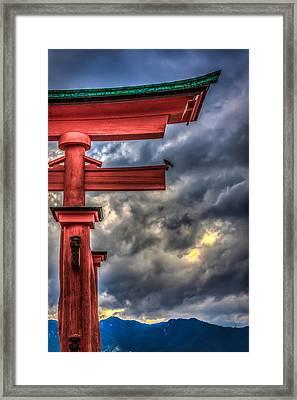 The Great Torii Framed Print