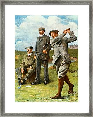 The Great Triumvirate Framed Print by Clement Flower