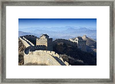 The Great Wall - China Framed Print