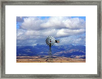 The Great Western Windmill Framed Print