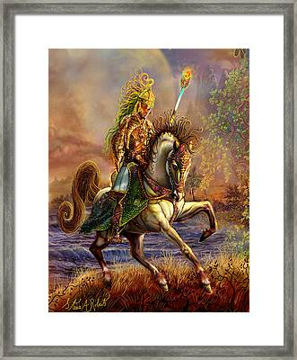 The Great Wizard King Framed Print
