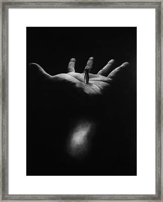 The Greatest Gift Framed Print by Rebekah Kitzmiller