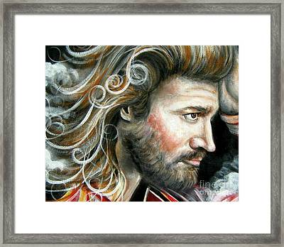 The Greatest Man In The World Framed Print by Patrice Torrillo