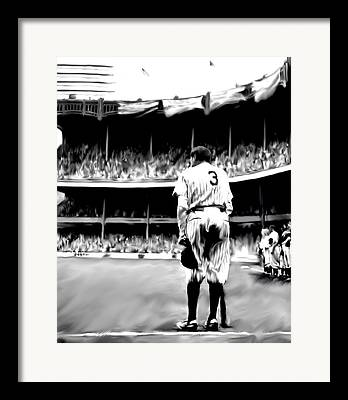 Home Run King Framed Prints