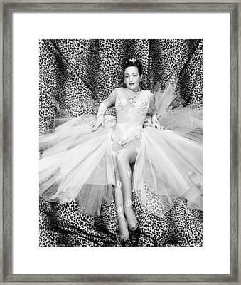 The Greatest Show On Earth, Dorothy Framed Print by Everett