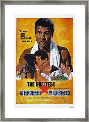 The Greatest, Us Poster, Muhammad Ali Framed Print by Everett