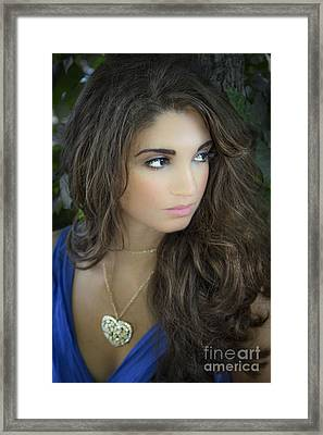 The Greek Goddess Framed Print