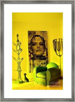 The Green Chair Framed Print by Taylor Steffen SCOTT