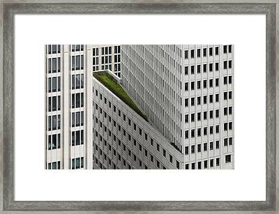 The Green Element Framed Print