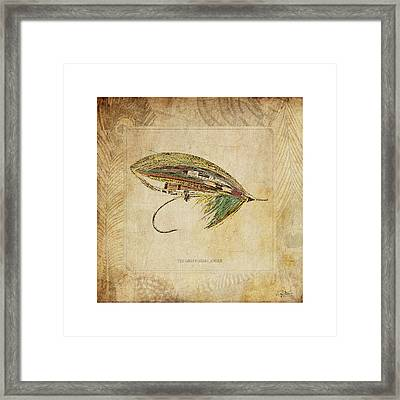 The Green Highlander Framed Print by Craig Tinder