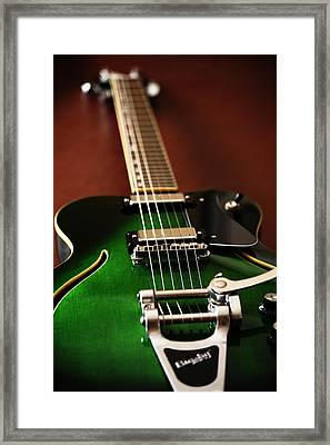 The Green One Framed Print by Karol Livote