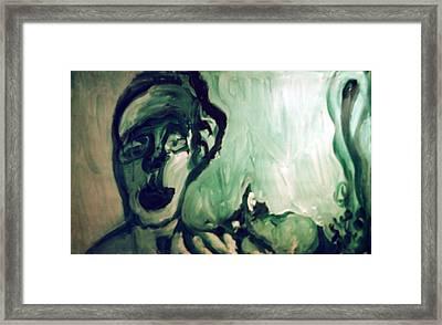 The Green Queen Framed Print