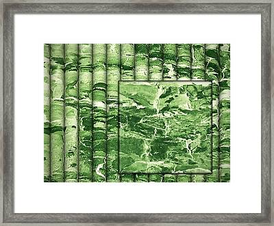 The Green Season Framed Print by Wendy J St Christopher