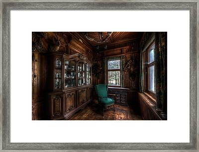 The Green Seat Framed Print