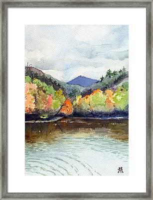 The Greenbriar River Framed Print