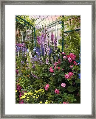 The Greenhouse Framed Print by Jessica Jenney