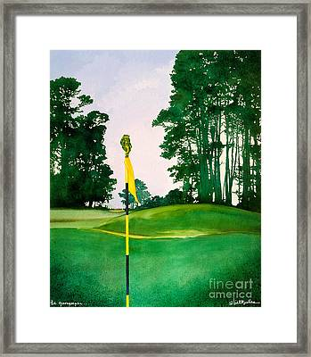 The Greenspeeper... Framed Print