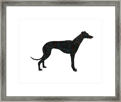 The Grey Framed Print by Celestial Images
