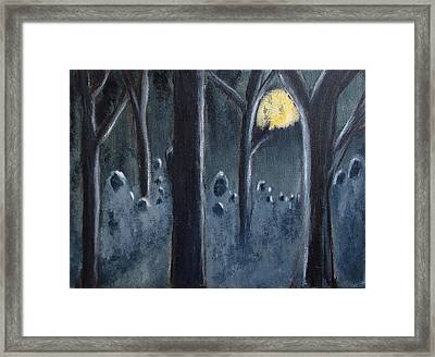 The Grey Follower#2 Framed Print by Zeke Nord