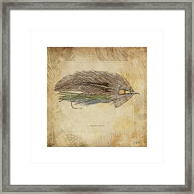 The Grey Ghost Framed Print
