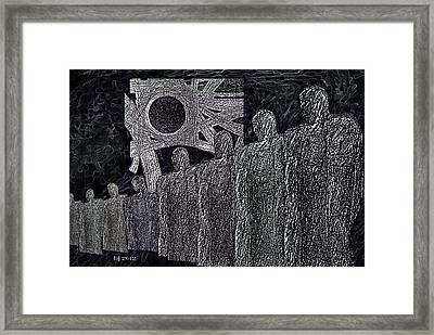 The  Grey  Legions  Framed Print by Hartmut Jager