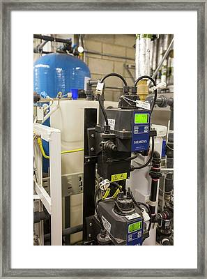 The Grey Water Recycling System Framed Print