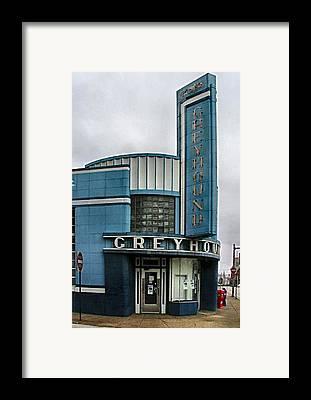 Old Bus Stations Photographs Framed Prints