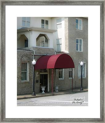 The Greystone Hotel Framed Print