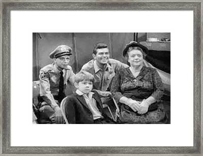 The Griffith Household Framed Print