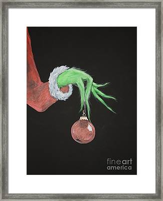 The Grinch Framed Print