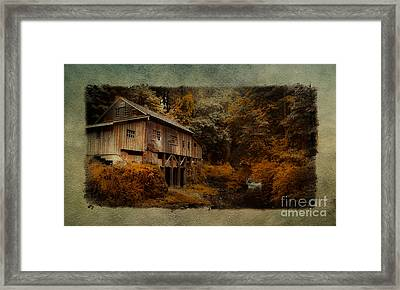The Grist Mill  Framed Print
