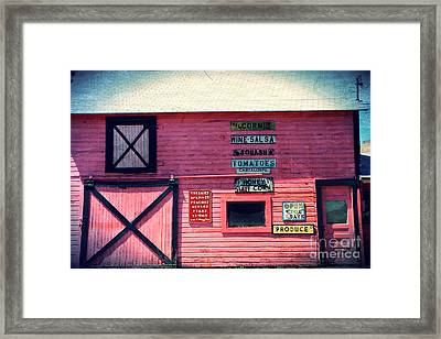 The Grocery Store Framed Print by Sophie Vigneault