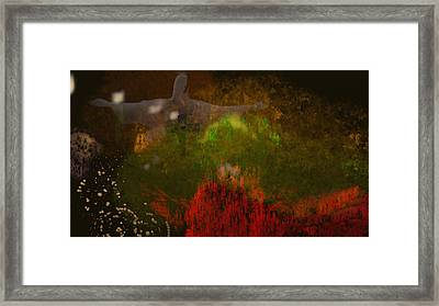 The Grotto Framed Print by Douglas Day Jones