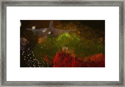 The Grotto Framed Print by Douglas Day Jones