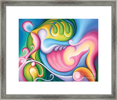 The Groundswell Of Spring Framed Print by Tiffany Davis-Rustam